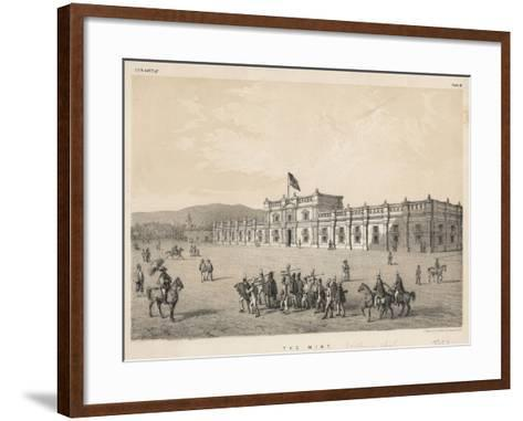 The Mint, 1855--Framed Art Print
