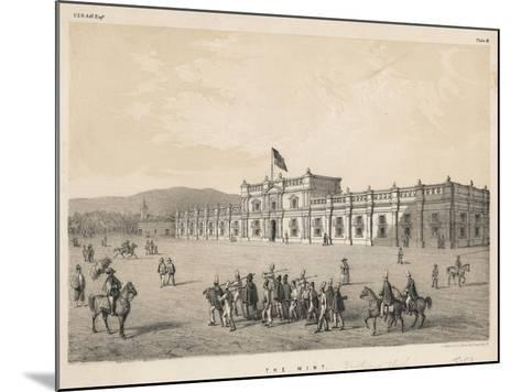 The Mint, 1855--Mounted Giclee Print