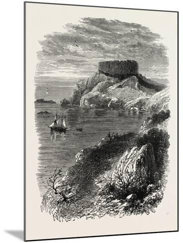 Fort Dumpling, New Plymouth, USA, 1870S--Mounted Giclee Print