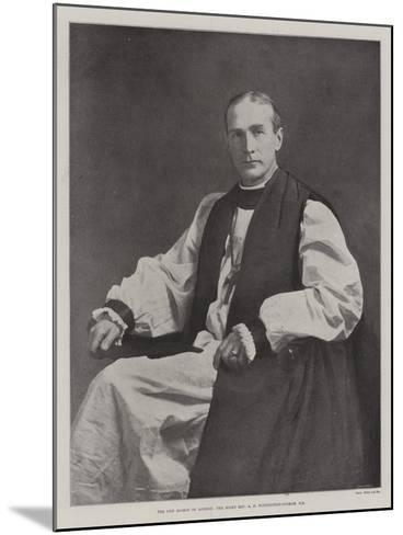 The New Bishop of London, the Right Reverend a F Winnington-Ingram--Mounted Giclee Print