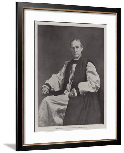The New Bishop of London, the Right Reverend a F Winnington-Ingram--Framed Art Print