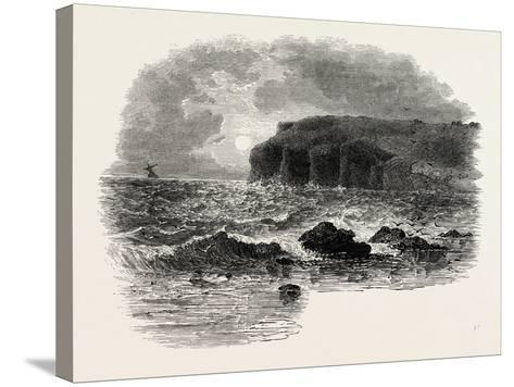 View on the Coast of Maine, USA, 1870s--Stretched Canvas Print