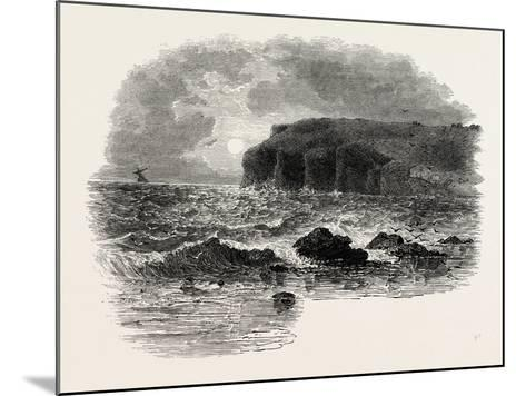 View on the Coast of Maine, USA, 1870s--Mounted Giclee Print