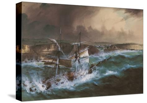Wreck of the 'Star of Greece', C.1888--Stretched Canvas Print