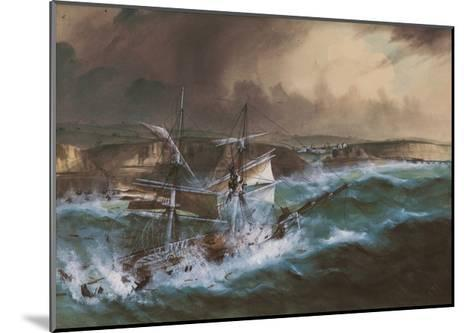 Wreck of the 'Star of Greece', C.1888--Mounted Giclee Print