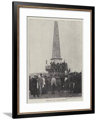 Dingaan's Day in the Transvaal--Framed Art Print