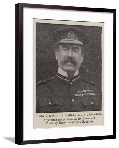 General Sir B C Russell--Framed Art Print