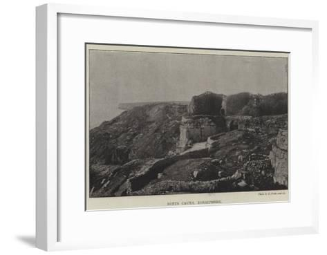 Rufus Castle, Dorsetshire--Framed Art Print