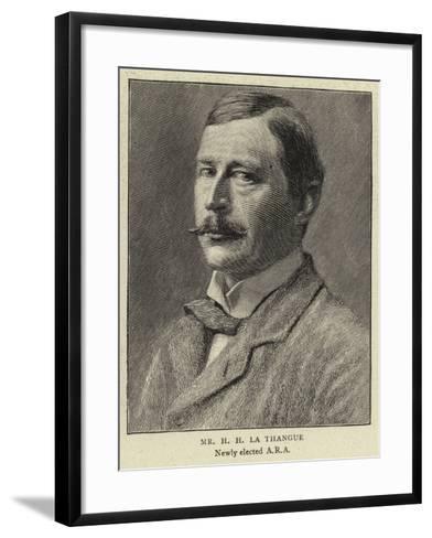 Mr H H La Thangue--Framed Art Print