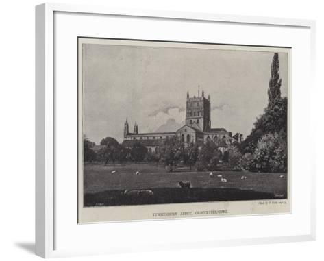 Tewkesbury Abbey, Gloucestershire--Framed Art Print