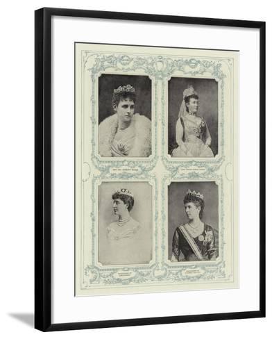 Aristocracy--Framed Art Print