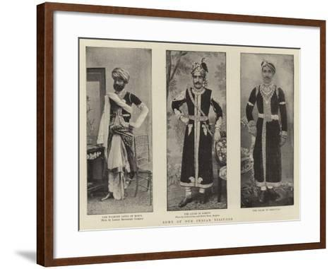 Some for Our Indian Visitors--Framed Art Print