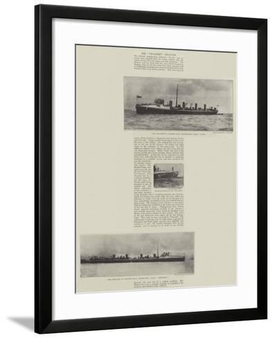 The Thrasher Disaster--Framed Art Print