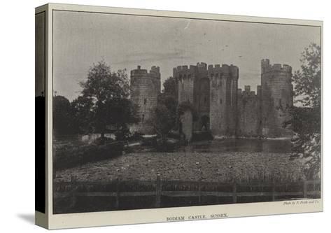 Bodiam Castle, Sussex--Stretched Canvas Print