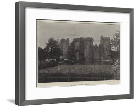 Bodiam Castle, Sussex--Framed Art Print