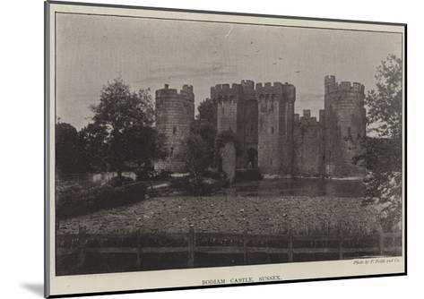 Bodiam Castle, Sussex--Mounted Giclee Print