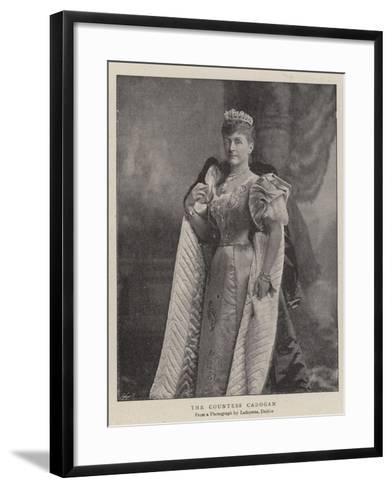 The Countess Cadogan--Framed Art Print