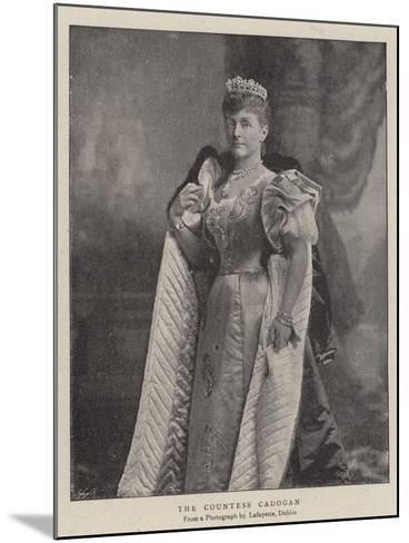 The Countess Cadogan--Mounted Giclee Print