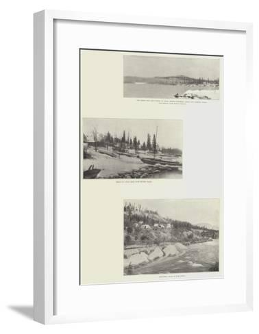 Canadian Scenes--Framed Art Print