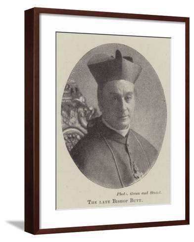 The Late Bishop Butt--Framed Art Print