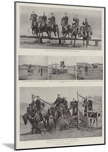 Cavalry Exercises at Aldershot--Mounted Giclee Print