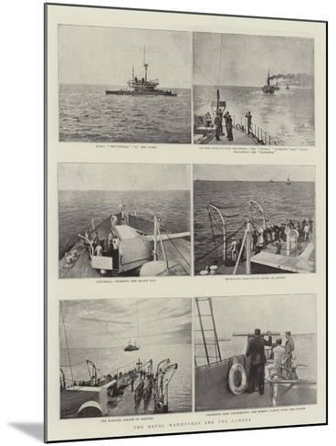 The Naval Manoeuvres and the Camera--Mounted Giclee Print