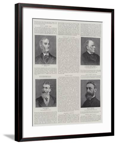 Presidents of the Royal Academy--Framed Art Print