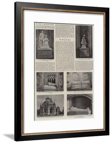 The Tombs of the Orleans Family--Framed Art Print