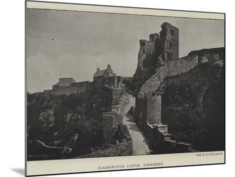 Scarborough Castle, Yorkshire--Mounted Giclee Print
