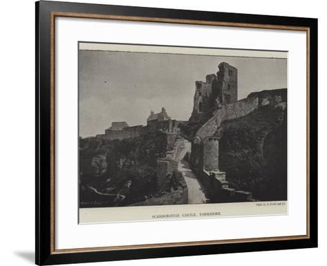 Scarborough Castle, Yorkshire--Framed Art Print