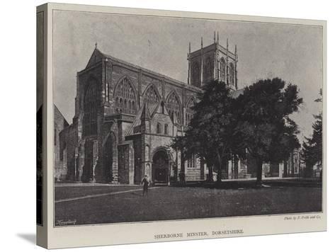 Sherborne Minster, Dorsetshire--Stretched Canvas Print