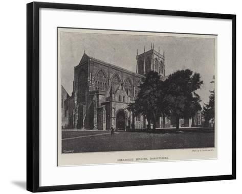 Sherborne Minster, Dorsetshire--Framed Art Print