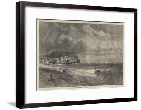 Joppa, from the Exhibition of Mr H a Harper's Views of the Holy Land--Framed Art Print