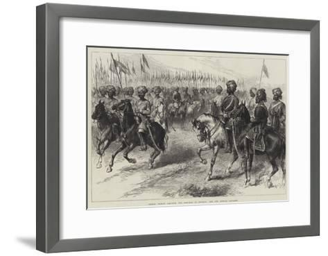Indian Troops Ordered for Service in Europe, the 9th Bengal Cavalry--Framed Art Print