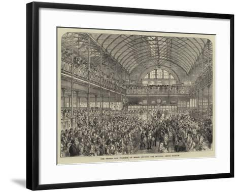 The Prince and Princess of Wales Opening the Bethnal Green Museum--Framed Art Print