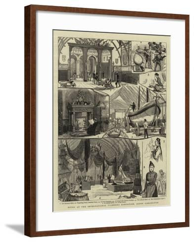 Notes at the International Fisheries Exhibition, South Kensington--Framed Art Print