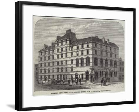 Working-Men's Club and Lodging-House, Old Pye-Street, Westminster--Framed Art Print