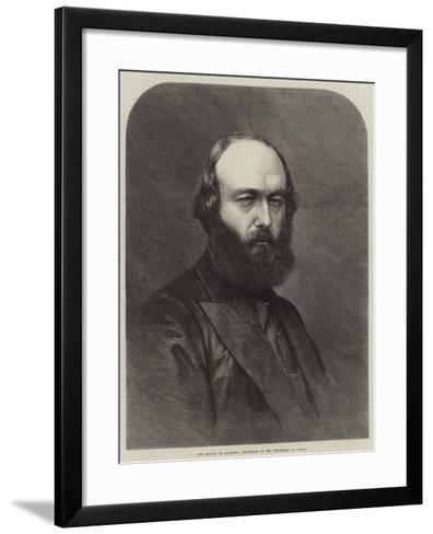 The Marquis of Salisbury, Chancellor of the University of Oxford--Framed Art Print