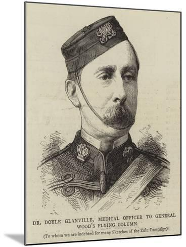 Dr Doyle Glanville, Medical Officer to General Wood's Flying Column--Mounted Giclee Print