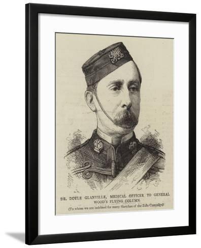 Dr Doyle Glanville, Medical Officer to General Wood's Flying Column--Framed Art Print