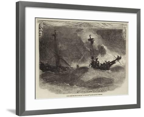 Scene from the New Ballet of Le Corsaire, at Her Majesty's Theatre--Framed Art Print