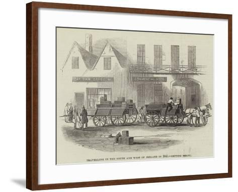 Travelling in the South and West of Ireland in 1845, Getting Ready--Framed Art Print