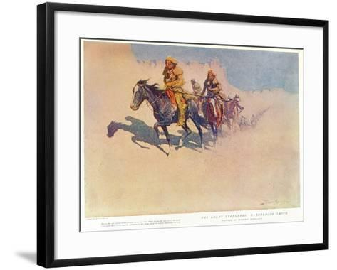 The Glorious Conquest of Buenos Ayres by the British Forces, 1806--Framed Art Print