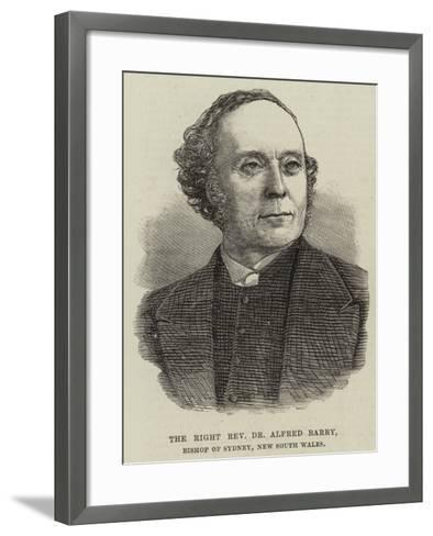 The Right Reverend Dr Alfred Barry, Bishop of Sydney, New South Wales--Framed Art Print
