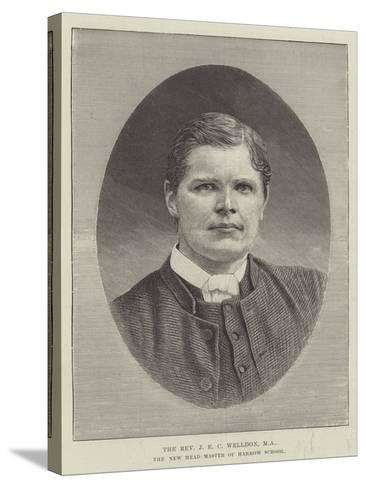 The Reverend J E C Welldon, Ma, the New Head Master of Harrow School--Stretched Canvas Print