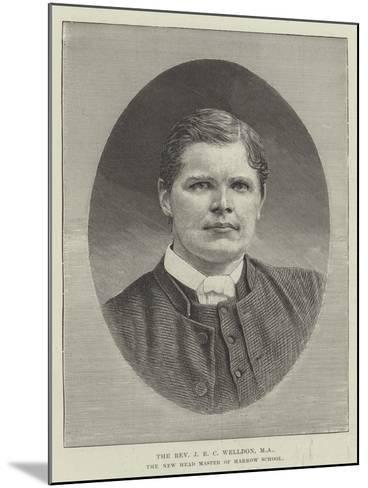 The Reverend J E C Welldon, Ma, the New Head Master of Harrow School--Mounted Giclee Print