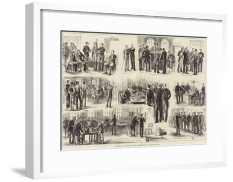 Sketches in Scotland-Yard, the Metropolitan and Detective Police--Framed Art Print