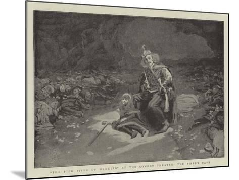 The Pied Piper of Hamelin at the Comedy Theatre, the Piper's Cave--Mounted Giclee Print