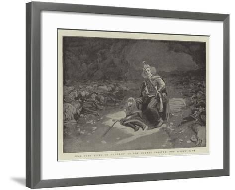 The Pied Piper of Hamelin at the Comedy Theatre, the Piper's Cave--Framed Art Print