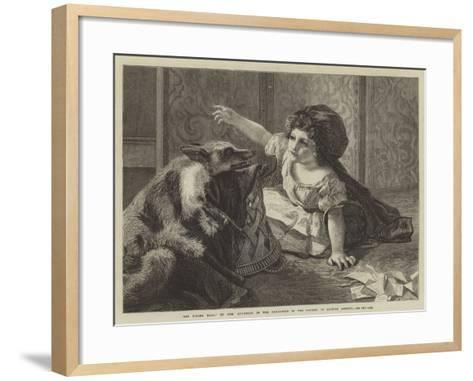 Red Riding Hood, in the Exhibition of the Society of British Artists--Framed Art Print